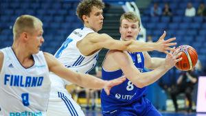 Basketspelare Jantunen