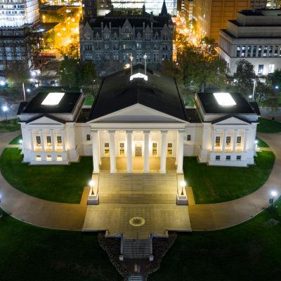 Delstatsparlamentet Virginia Capitol i staden Richmond, Virginia, i USA.