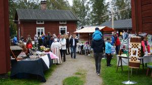 Brages skördemarknad i Vasa 2016.