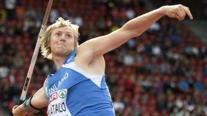 Senast Lassi Etelätalo tävlade i en stortävling i EM i Zürich 2014 var han nära skrällmedalj.