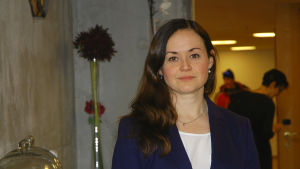 Silja Borgarsdottir Sandelin, viceordförande för SFP