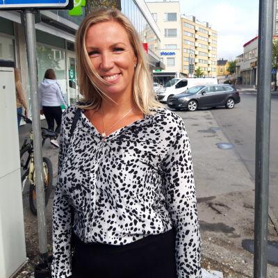 Direktör Paula Erkkilä på Österbottens handelskammare.