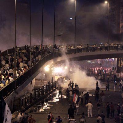 Gatuslagsmål i Kairo