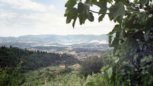 maisema Toscanassa 2