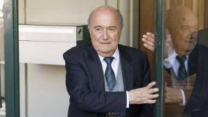 FIFA:s tidigare ordförande Sepp Blatter 2016.