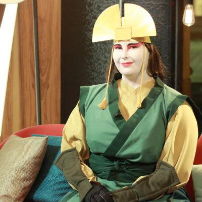 Sofia Flinck sysslar med Cosplay där man klär ut sig till olika karaktärer.