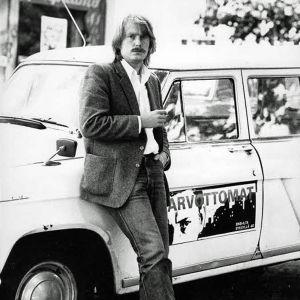 Mika Kaurismäki vuonna 1982.