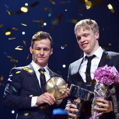 Sami Jauhojärvi och iivo Niskanen