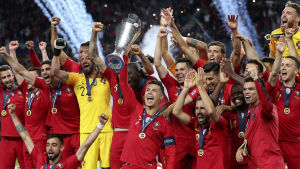 Portugal firar sin Nations League-titel.