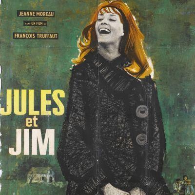 Francois Truffaut: Jules ja Jim. Elokuvajuliste.