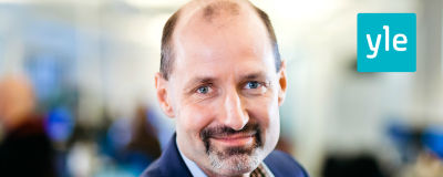 Jonas Jungar, chef för kvalitetskontroll och publikdialog på Svenska Yle