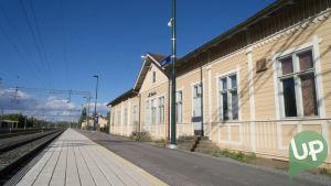 Nokian rautatieasema on yksin UP:n kuvauspaikoista.