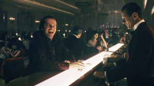 Hohto, ohjaus Stanley Kubrick. Kuvassa Jack Nicholson.