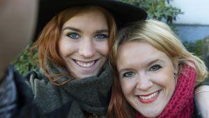 Frillan och Prillan selfie.