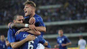 Italiens fotbollslandslag.