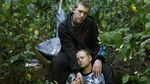 James ja Tyler dokumenttielokuvassa American Vagabond