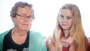 Elsa Koivisto ja Sonja Vainonen