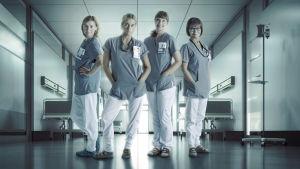 Sjukhusdramat Syke handlar om fyra sjuksköterskor.