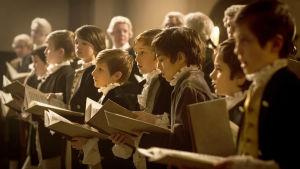 Lapsikuoro dokumentissa Messias-oratorion synty