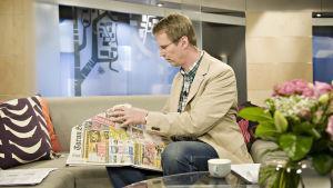 Aamu-tv:n juontaja Nicklas Wancke nukkui 10 vuotta kemiallista unta
