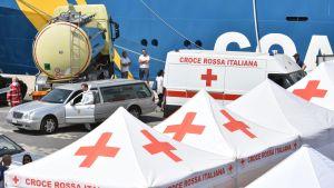 Under årets första sex månader har Italien tagit emot 85 000 migranter.