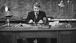 Pentti Siimes tv-näytelmässä Opettaja (1966)