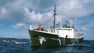 Greenpeacen laiva Rainbow Warrior