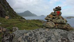 Merkitty vaellusreitti Norjassa