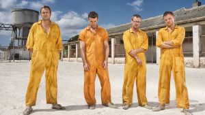 Kuvassa vasemmalta: Quinn (Philip Glenister), Woody (Max Beesley), Baxter (John Simm), Rick (Marc Warren