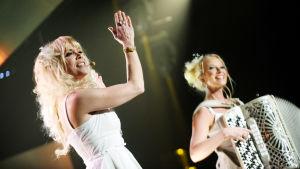 Kuunkuiskaajat esiintyvät vuoden 2010 euroviisukarsinnassa