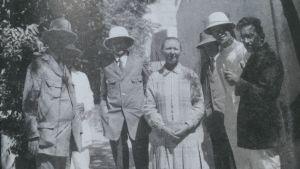 """Hilma Granqvist och hennes kurskamrater, de tyska """"arkeolog-teologerna"""", i Jerusalem hösten 1925."""