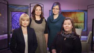 Suomessa tehdään vuosittain noin 10 000 aborttia. Oman tarinansa kertovat Mari Pulkkinen, Minna Jaakkola ja Maria Ikola.
