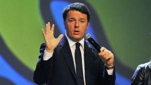 Italiens premiärminister Matteo Renzi i december 2015.