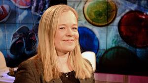 Katri Karjalainen deltog i Obs debatt 25.02.2016
