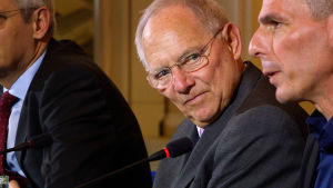 Ulkolinja: Schäuble eurokriisin ytimessä, yle tv1