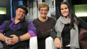 Roni Leppä, Hilla Blomberg, Emmi Lohva