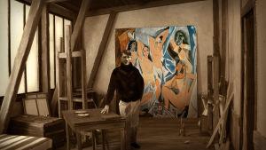 Pablo Picasso ateljeessaan sarjassa Ranskan modernismin kiehtova historia