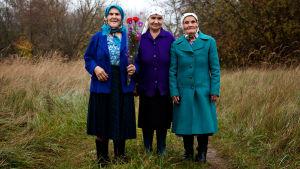 Hanna Zavorotyna, Maria Šovkuta ja Valentyna Ivanivna dokumentissa Tšernobylin babuškat
