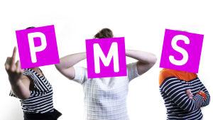 Naiset ja PMS-kirjaimet