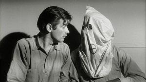 Kuva Samuel Fullerin elokuvasta Shokkikäytävä (1963).