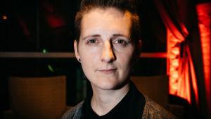Martina Moliis-Mellberg på Yle Fems litteraturfest