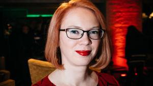 Maria Turtschaninoff på Yle Fems litteraturfest