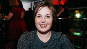 Fölrfattaren Karin Erlandsson på Yle Fems litteraturfest