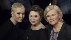 Anne Flinkkilän vieraina ovat musiikkia tekevät syöpäkaverit Astrid Swan ja Stina Koistinen.