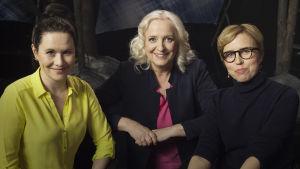 Toimittaja Maarit Tastulan vieraina ovat nyhtökauran äiti, yrittäjä Maija Itkonen ja dokumenttiohjaaja Virpi Suutari.