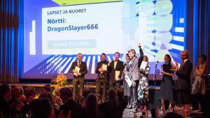 Nörtti: DragonSlayer666 voitti lapsille ja nuorille suunnatut sisällöt sarjan KOURA-palkinnon