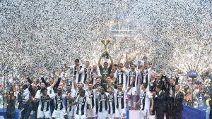 Juventus firar ligaguld.