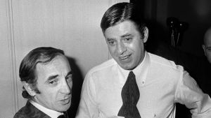 Charles Aznavour och Jerry Lewis 1971.