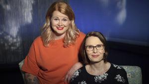 Ani Kellomäki ja Minna Eväsoja