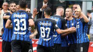 Inter vann över SPAL i Serie A.